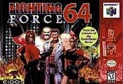 Fighting Force 64 (USA) Box Scan